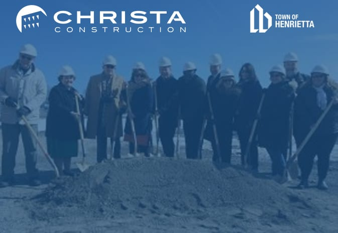 Henrietta Public Library breaks ground on new construction