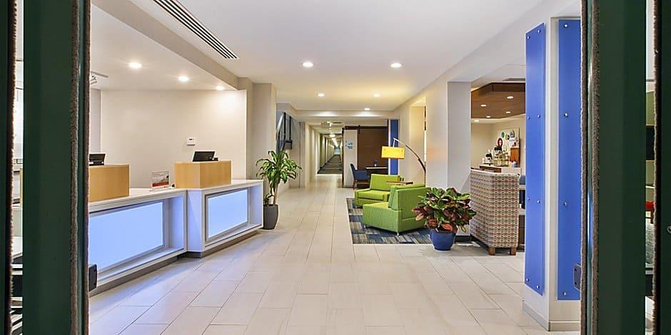 Holiday Inn Express' Inside Lobby