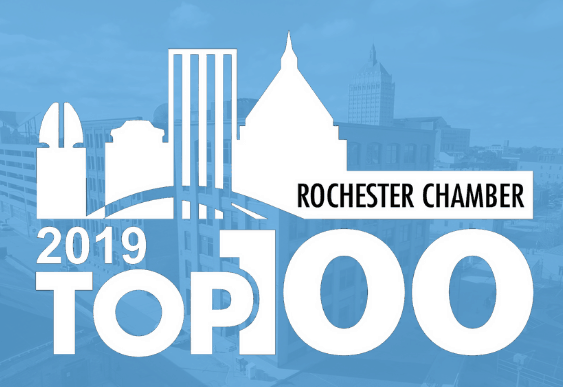 Christa Construction Ranks Number 5 in the Rochester Chamber Top 100