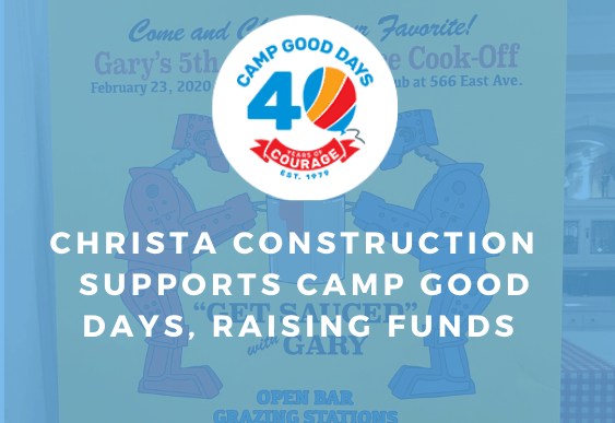 Christa Construction Fundraises Camp Good Days and The Pirate Toy Fund at Gary's 5th Annual Sauce Cook – Off