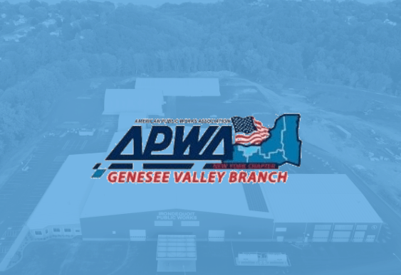 APWA (American Public Works Association) Genesee Valley Chapter Award Winner