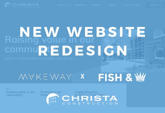 Christa Construction Announces New Website
