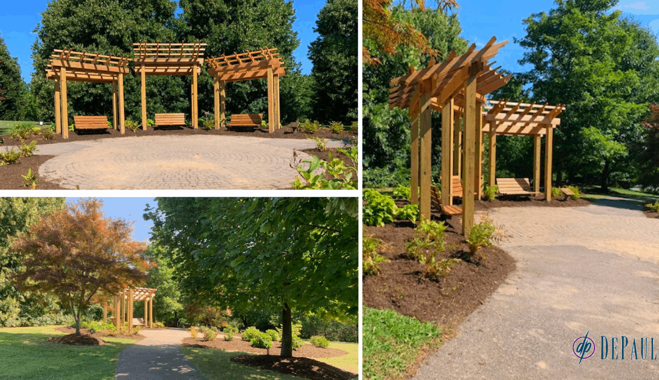 Christa Construction Renovates the Remember Garden at Highland Park