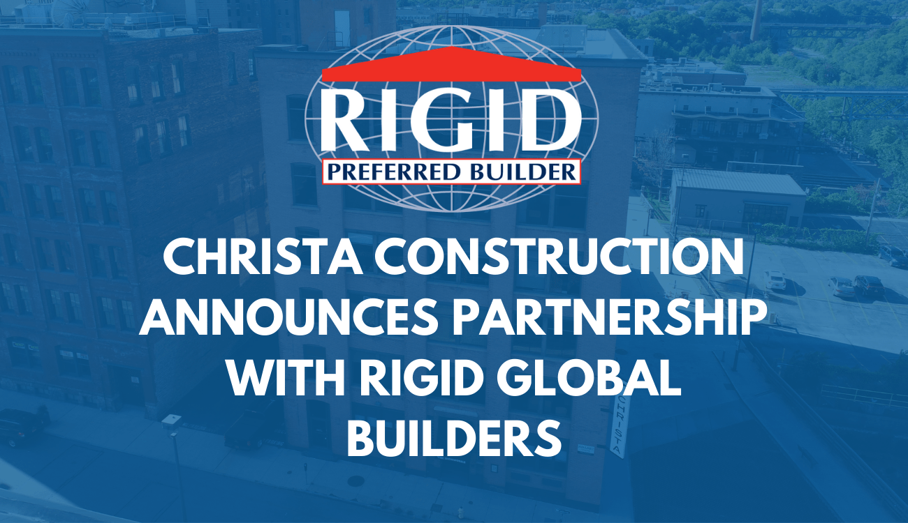 Christa Construction Announces Strategic Partnership with Rigid Global Buildings as Preferred Builder