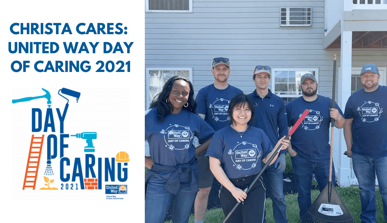 Christa Cares: United Way Day of Caring 2021